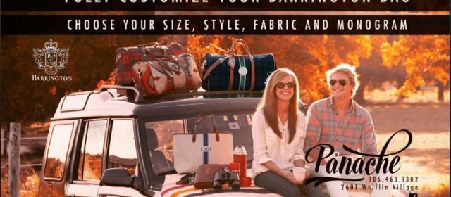 Customize Barrington Bag at Panache